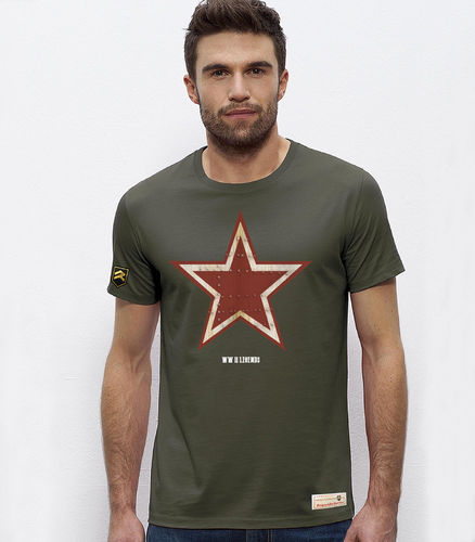 Camiseta Militar WWII LEGENDS RETRO URSS PREMIUM