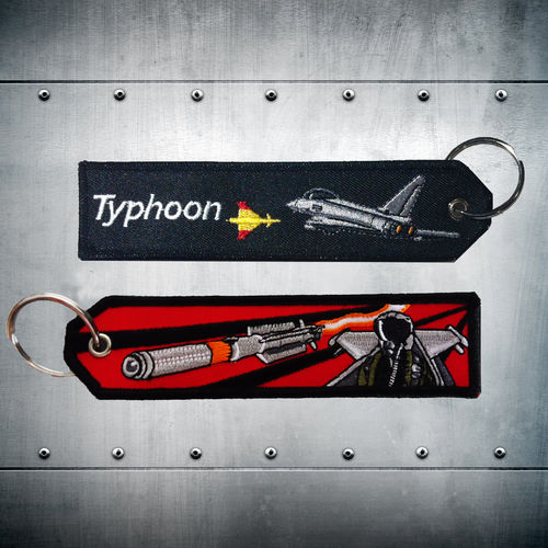 Typhoon Spain red Key Chain
