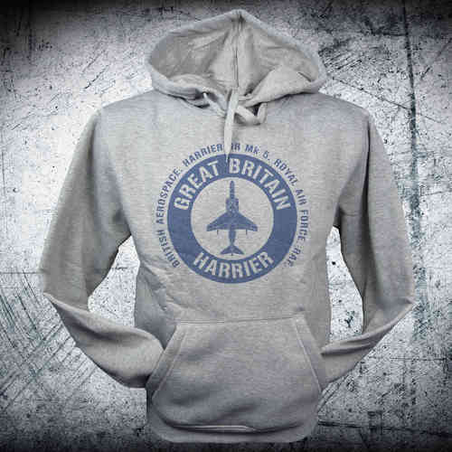 Sudadera HARRIER BRITAIN emblema azul
