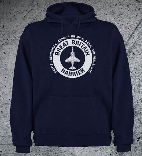 Sudadera HARRIER BRITAIN emblema blanco