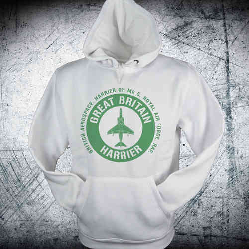 Sudadera HARRIER BRITAIN emblema verde