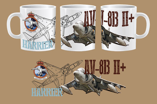 TAZA HARRIER AV-8B II