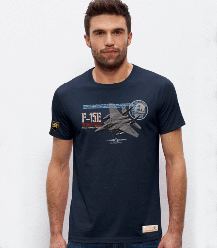 Outlet Size L Navy Blue F15E T-shirt
