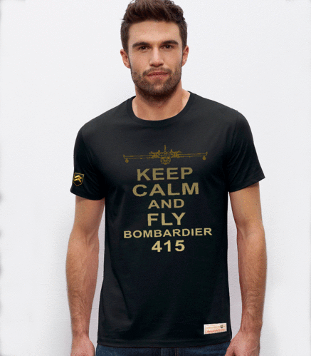 Camiseta PREMIUM KEEP CALM CL-415
