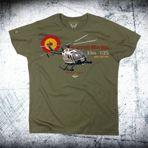 Helicopter Guardia Civil Bö-105 T-Shirt