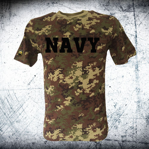 Camiseta Militar NAVY VEGETATO