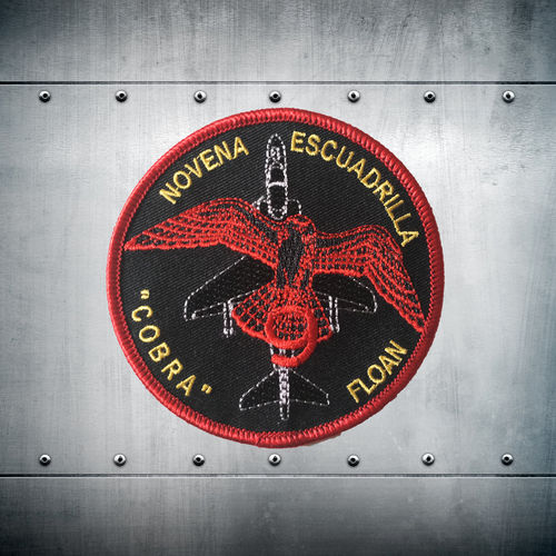 9ª Escuadrilla COBRA FLOAN Patch