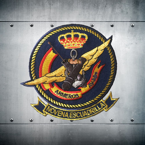 Novena Escuadrilla Ordnance Team patch