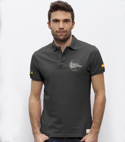 Embroidery polo Falcon 46th Wing