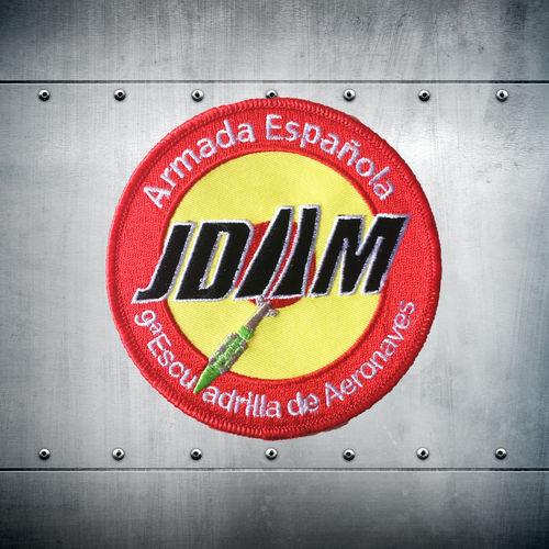 JDAM 9ª Escuadrilla colour Patch