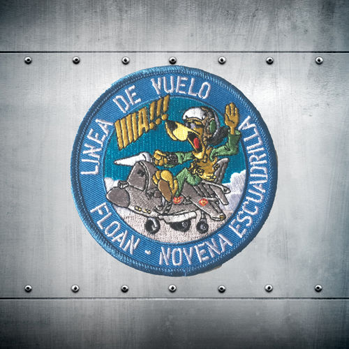 9th Escuadrilla Linea de vuelo FLOAN Patch