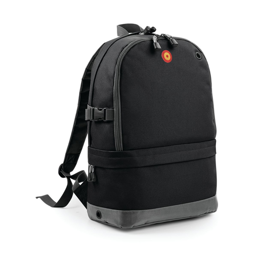 Large multi-pocket backpack Escarapela Española