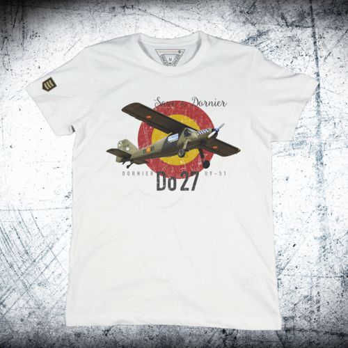 Camiseta Save a Dornier. Do-27.