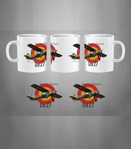 Taza Save a Dornier. Do-27