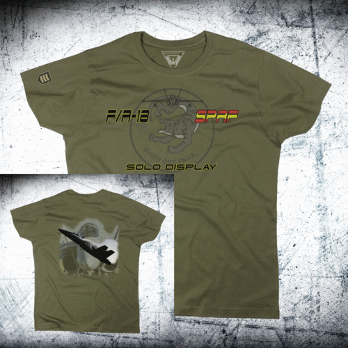 Camiseta militar SOLO DISPLAY Ala 15