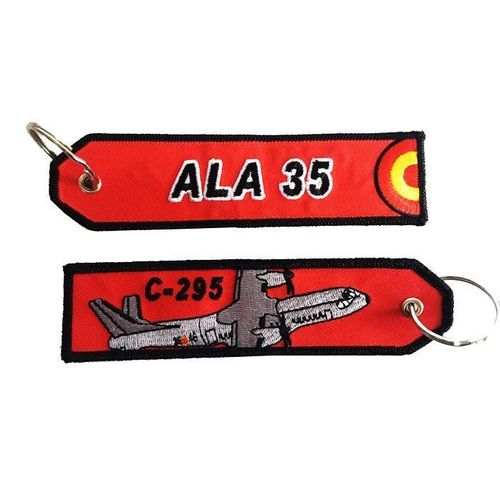 35th wing C-295 red Key Chain